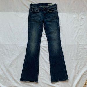 Diesel women's jeans 27 x 32 ACT W28 slim bootcut
